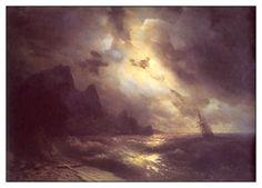 Ivan Konstantinoviç Ayvazovski / 29 Temmuz 1817 - 05 Mayıs 1900 / Rusya / Ölü Deniz