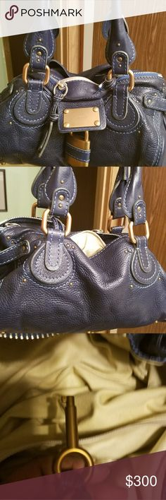 "Chloe Paddington Estimated Retail:$2,195.00  Condition:Very Good. Minor wear throughout.  Measurements:Shoulder Strap Drop 8.5"", Height 6.5"", Width 13.5"", Depth 7.""  Designer:Chloé Chloe Bags Shoulder Bags"