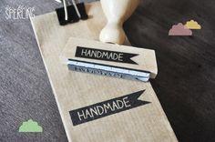 """Stempel """"Handmade"""""""