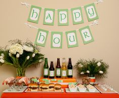 St. Patrick's Day: Beer Tasting Happy Hour Party Inspiration thanks to @Hostess with the Mostess