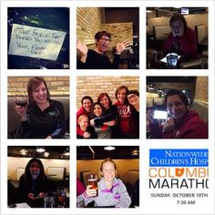 "Clevelandmrtt: ""Lost my voice last night just registering for #cbusmarathon so lord knows what's going to happen when we actually run it!! #CMnation here we come! Cleveland MRTT #clemrtt #momsrunthistown #marathonvirgins #adventuresincbus #likeagirl"" Cleveland, OH"