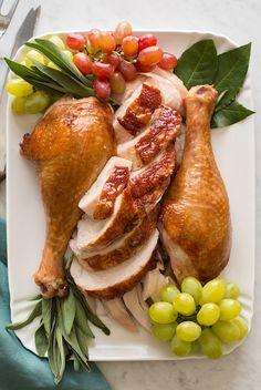 citrus herb roasted turkey | 10 best turkey recipes | camille styles