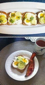 Výborná snídaně Sushi, Breakfast, Ethnic Recipes, Food, Fitness, Diet, Morning Coffee, Eten, Keep Fit