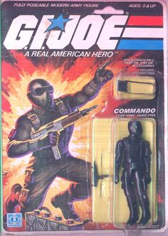 Yes, I was lucky enough to have the first Snake Eyes.  I got him for Christmas in 1982 along with Breaker, Flash, Cobra Officer, and Clutch and the Jeep.  For the first year I had him I thought he was an agent of Cobra.  Finally, I saw the cartoon and it set me straight.