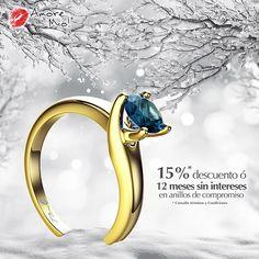 Anillo de Oro Amarillo 14kt SKU: YG1423119 Diamante Round 0.88 quilates. Color-Blue, Claridad I1 Laboratorio - GIA-DGC, SKU Diamante: 1129128655, Precio: $ 32,902.65 pesos M.N *Consulte términos y condiciones.