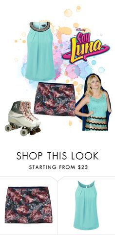 """""""soy luna"""" by maria-look ❤ liked on Polyvore featuring Abercrombie & Fitch and City Chic"""