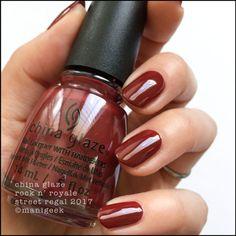 China Glaze Unplugged Perfect Polish For The Fall Season Nail Polish Autumn Nails Nails