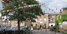 Grassington Village Centre. Great base for cycling le Tour 2014 Route www.cosycottages.com/ivy-cottage/
