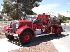 1937 Buffalo Fire Engine.