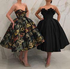 Do you like black dresses or color-full dresses 👗 Elegant Outfit, Elegant Dresses, Pretty Dresses, Sexy Dresses, Beautiful Dresses, Maternity Dresses, African Prom Dresses, African Fashion Dresses, Homecoming Dresses