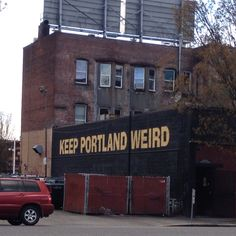 Keep Portland weird! WELL YES, we do have that side too...............if you wish to belong to the Church of Elvis - Portland is probably your home!!