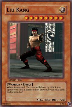 www.mortal kombat yugoh cards | Mortal Kombat Set - Pop Culture Cards - Yugioh Card Maker Forum