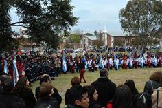 Cientos de chicos juraron lealtad a la bandera en la Casona de Castañares: Se juntaron escuelas de la zona norte de la ciudad y Vaqueros.…