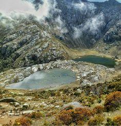 Laguna Los Anteojos, Pico Bolivar Mérida, Venezuela