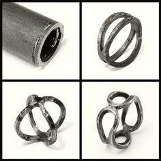 Double Bent Band - iron | process | Janos Gabor Varga | Flickr