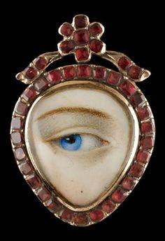 Eye Jewelry, Jewelry Art, Antique Jewelry, Vintage Jewelry, Jewelry Design, Jewellery, La Danse Macabre, Birmingham Museum Of Art, Lovers Eyes