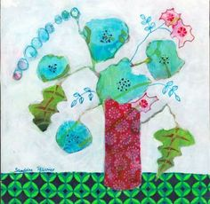 "Saatchi Art Artist Sandrine Pelissier; Painting, ""In Chicago"" #art"