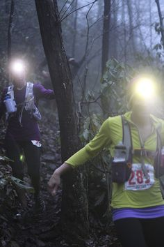 Night trail run- done this a few times. I'd suggest a running buddy for this