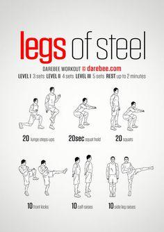 Legs of steel!