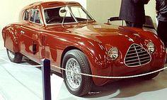 1948 La Cisitalia 1100 coupe, cette voiture ancienne fut fabriquée de 1948 à 1950.