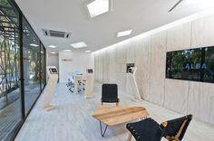 Sala de Ventas El Alba,Courtesy of Polivalente