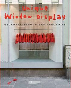 window display - monochromatic and minimalist impacts a powerful voice: come in possible SALE window too Visual Display, Display Design, Store Design, Display Ideas, Shop Window Displays, Store Displays, Display Window, Retail Displays, Retail Windows