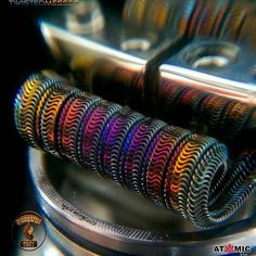 repost @squirmingcoils Next color stage. Dat polished @twistedmesses n80 colors up real Purty !