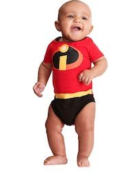 Brand New The Incredibles Baby Jack Jack Deluxe Infant Costume