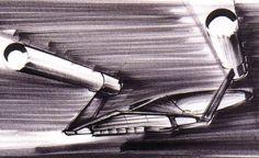 Concept art by Ken Adams