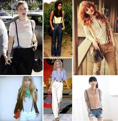Pair suspenders with your shorts for a high fashion look this summer! Suspenders Fashion, Suspenders Outfit, Girls In Suspenders, Next Clothes, Clothes For Women, Dress Clothes, Boho Outfits, Cute Outfits, Cosy Outfit