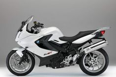 2013 BMW F800GT White Profile