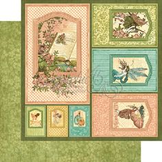 graphic 45 once upon a springtime uk - Google Search