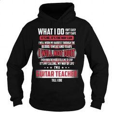 GUITAR TEACHER_ - #white shirt #geek t shirts. GET YOURS =>…