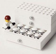 Lego Star Wars storm trooper clone war filing cabinet
