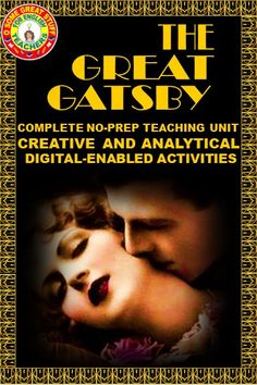 My students always have a tremendous response to Fitzgerald's The Great Gatsby. Much of their enthusiasm, I believe, is sparked by their capacity to follow the plot, their attraction to or repulsion toward the characters, and their ignited imaginations sparked by the imagery. THIS UNIT INCLUDES INTRODUCTIONS, CHAPTER ACTIVITIES, ASSESSMENTS, ESSAY PROMPTS, 20S INTROS, SYMBOLISM ACTIVITIES, PRESENTATIONS, FUN STUFF!  #HIGHSCHOOLENGLISH #SECONDARYELA #HIGHSCHOOLDISTANCELEARNING #NOPREPGATSBY Pre Reading Activities, English Activities, Classroom Resources, Teaching Resources, Found Poem, Formative And Summative Assessment, English Teachers, Essay Prompts, High School English