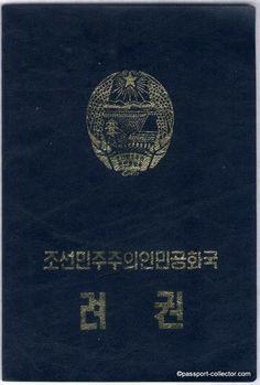 NORTH KOREAN PASSPORT