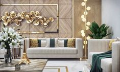 21 inspiring modern living room decor for your house 8 Glam Living Room, Elegant Living Room, Interior Design Living Room, Living Room Designs, Living Room Decor, Modern Living Room Design, Interior Modern, Living Rooms, Drawing Room Design