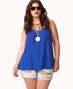 Staple Scoop Tank | FOREVER 21 - 2000049343