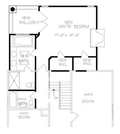 Master Suite Addition Plans New Family Room Kfbr3 House Plan