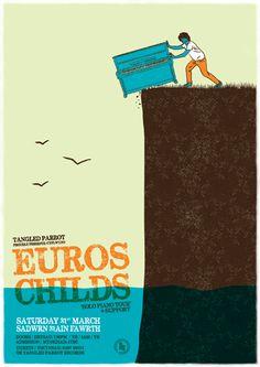 Euros Childs - Gig Poster