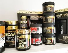 Optimum Nutrition ON Oreo, Workout, Gold, Work Out, Yellow, Exercises