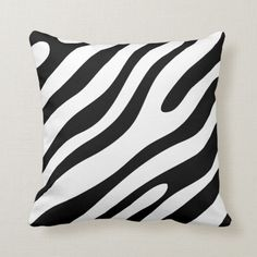 Shop Modern Zebra Print Pattern Personalize Your Colour Throw Pillow created by OwlieInvites. Personalize it with photos & text or purchase as is! Elegant Home Decor, Elegant Homes, Dog Bowtie, Zebra Print, Custom Pillows, Pillow Design, Spice Things Up, Print Patterns, Throw Pillows