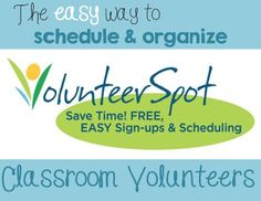 Tutorial for using VolunteerSpot to organize and schedule parent helpers! | Owl-ways Be Inspired