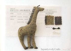 Small Animal Brooch by Imari Murakami