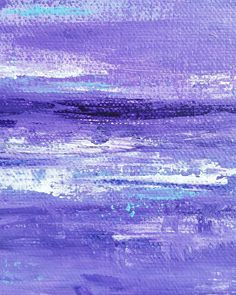 purple abstract painting Melinda Driscoll