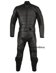 Save $ 230.01 order now 2PC MOTORCYCLE BIKE LEATHER RACING RIDING SUIT ARMOR 42