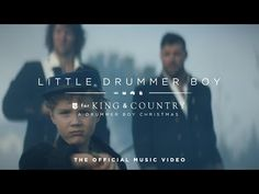 for KING & COUNTRY - Little Drummer Boy (Official Music Video) - YouTube Christian Christmas Songs, Christmas Music, Christmas Lights, Christian Videos, Christian Songs, Country Lyrics, Country Music, Music Love, My Music