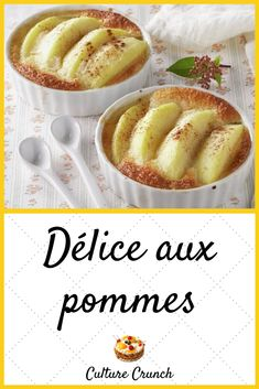 Apple Recipes, Lunch Recipes, Dessert Recipes, No Cook Desserts, Easy Desserts, Mousse, Compote Recipe, Winter Desserts, Food Presentation