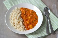 Chicken goulash with rice Pureed Food Recipes, Cooking Recipes, Healthy Recipes, A Food, Good Food, Yummy Food, Quick Meals, No Cook Meals, Dutch Recipes