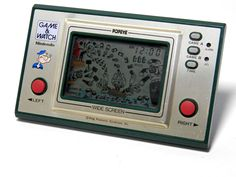 Nintendo Game & Watch Wide Screen Popeye PP-23 MIJ 1981 Good Condition_33 #Nintendo